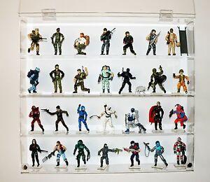 "Collectors Showcase - Premium Display Case for 3-3/4"" GI Joe Action Figures T3MS"