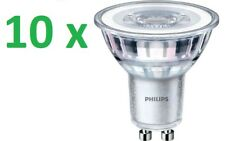 10 X Philips DEL Spot gu10 projecteur 3,5 W = 35 W Chaud 2700k Classic Ampoules 36d
