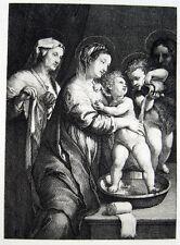 Giulio Romano Madonna mit der Waschschüssel La Madonna del Catino Dresden