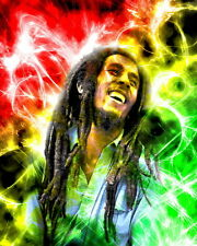"03 Bob Marley - Jamaican Singer Music Star The Wailers 14""x18"" Poster"