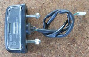 HONDA VFR 1200 2010 10 - NUMBER PLATE LIGHT