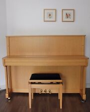 Klavier Bechstein Zimmermann Modell 434079 Erle Top-Zustand