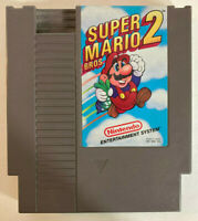 Super Mario Bros 2 Nintendo Entertainment System Tested Working Cleaned