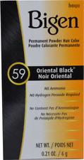 BIGEN PERMANENT HAIR COLOR #59 Oriental Black Plastic Bottle