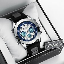 Barkers of Kensington Mens Chronograph Sports Watch Christmas Discount SRP £425