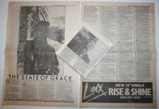GRACE JONES 3 page 1980 Interview & article NME UK clipping