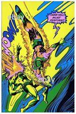MAR-VELL vs SUB-MARINER THIRD EYE PRINT Marvelmania Captain Marvel
