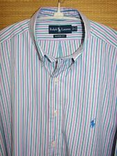Ralph Lauren Classic Fit Polo Pony Casual or Dress Shirt Size 17 Chest 52-54""
