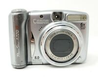 FOR PARTS Canon PowerShot A720IS 8MP Point & Shoot Digital Camera PC1251