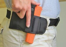 Quick Draw Holster for Glock 17 & 22 Lay Flat Conceal Carry Belt Design Ambidex
