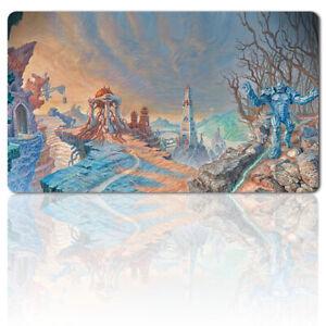 KARN URZA PANORAMA - Board Game MTG Playmat Games Mousepad Play Mat of TCG