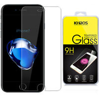 KHAOS For Appe iPhone 7 Plus Tempered Glass Screen Protector Guard 0.26mm 9H