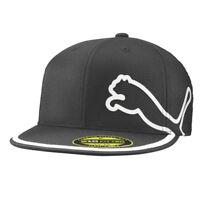 Puma Golf Youth Monoline 210 Performance Cap Hat  PMGO2096 - Flat Bill - Black