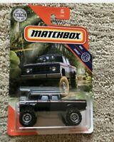 2020 Matchbox Dodge D200 Crew Cab (Black)  #65/100 MBX Jungle *MOMC* RARE* VHTF*