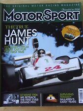 MOTOR SPORT MAGAZINE JUL 2006 TRUE JAMES HUNT MCLAREN LE MANS 1906 FIRST GP