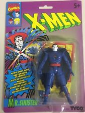 """rare MR. SINISTER 4"""" action figure from X MEN animated series TYCO sealed 1993"""