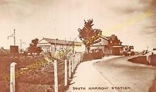 South Harrow Railway Station Photo. Sudbury Hill - Rayners Lane. District Ry (8)