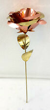 Real Copper Brass Rose Beautiful 8 Inch Cobre Handcrafted Any Occasion Gift
