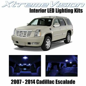 XtremeVision Interior LED for Cadillac Escalade 2007-2014 (16 PCS) Blue