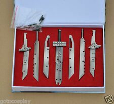 Final Fantasy 7 Cloud Strife Fusion Swords Buster FF7 Sword Collection Set