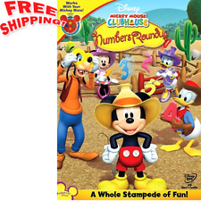 Toddler Mickey Mouse DVD Teaching Aids For Kids Animated Entertainment Learning