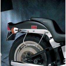 Chrome Saddlebag Support Brackets Plate Mount Set DS-110846 HD OEM 91970-84