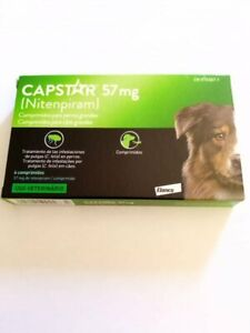 Capstar¹Flea Treatments dogs 57mg from 26 to 125 lb (12 -57 kg)