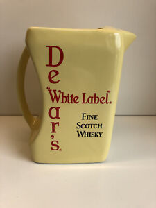 Dewar's 'White Label' Whisky Wade Water Jug