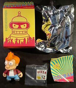 NEW 2010 Kidrobot Original FUTURAMA Mini Vinyl Blind Box Figures FRY