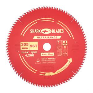 Shark Blades Circular Saw Mitre Saw blade 305mm x 96 Teeth Teflon Coating ULTRA