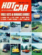 HOT CAR JUNE 1971-BOLER T BUCKET-MK1 CORTINA GOES V6-THAMES 6 WHEEL BREAKDOWN