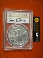 2021 SILVER EAGLE PCGS MS70 DON SUTTON HAND SIGNED FIRST DAY OF ISSUE LABEL