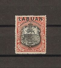 NORTH BORNEO/LABUAN 1901 SG D5 MINT Cat £45