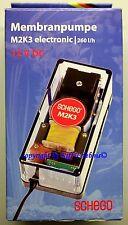 Schego Membranpumpe M2K3 electronic 12V DC Luftpumpe 260l/h