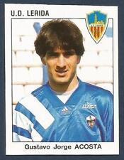 PANINI FUTBOL 93-94 SPANISH -#139-U.D.LERIDA-GUSTAVO JORGE ACOSTA