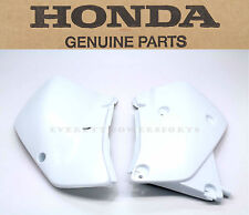 New Genuine Honda Side Panels 2000-2007 XR650 R OEM Left Right Ross White #a98
