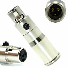 YPA MA304 Adapter Convert AKG Headset Lavalier Mic To Shure PGX SLX Transmitter
