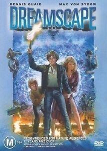 DREAMSCAPE - DENNIS QUAID - NEW & SEALED REGION 4 DVD FREE LOCAL POST - OZ