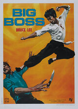 Fist Of Fury - Jing wu men (1972) Bruce Lee cult movie poster 24x34 inches