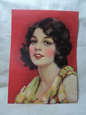 "vintage 1950's  J. KNOWLES HARE PIN UP Print  ""SWEETHEART"""