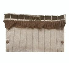 Le Guignol Knitted Baby Sleeve Brown