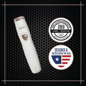 Wahl 09865 2824 Clean and Smooth Grooming Trimmer for Women White