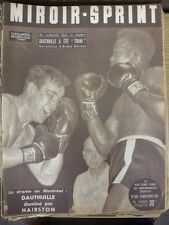 12/11/1951 MIROIR SPRINT français journal sportif, contenu à Inclure: Boxe: E