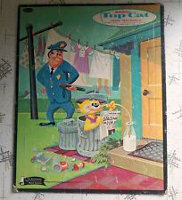 Vintage Hanna Barbera Top Cat Frame Tray Puzzle 1961 Complete Cardboard Whitman