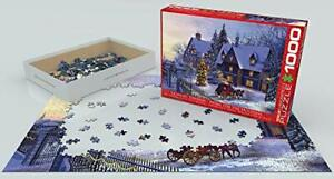 EuroGraphics Home for the Holidays Puzzle 1000 Pieces