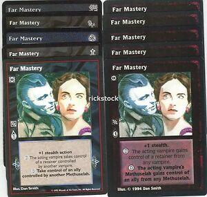 Far Mastery x10 BH 3rd Ed SW FN VTES Jyhad