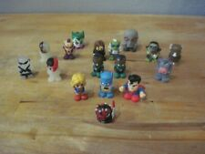 """1.5"""" Mini Squishy Rubber Action Figures Dc Comics-Star Wars-Tmnt-Other Lot 17"""