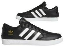 Nuevo adidas Originals Bajo Hard Court Hombre Negro Oro Zapatillas Todo Tallas