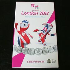The Official Olympic London 2012 50p coins Sports Collection Album- NO COINS -2