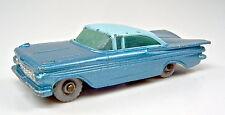 Matchbox RW 57b Chevrolet Impala azul BPL. rare ruedas grises